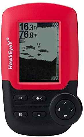 Hawkeye fishtrax 1x fish finder